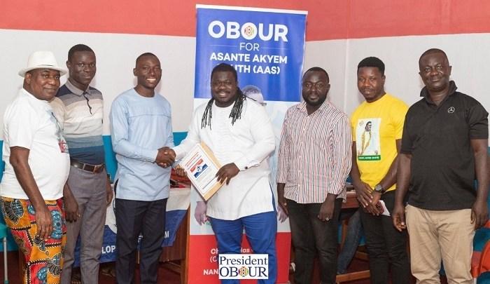 Obour files nomination to contest Asante Akyem South NPP parliamentary primaries