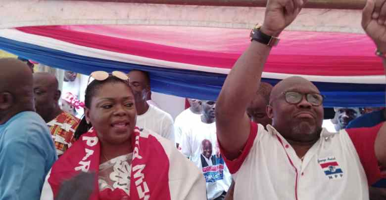 George Andah confident of second term victory in Awutu Senya West