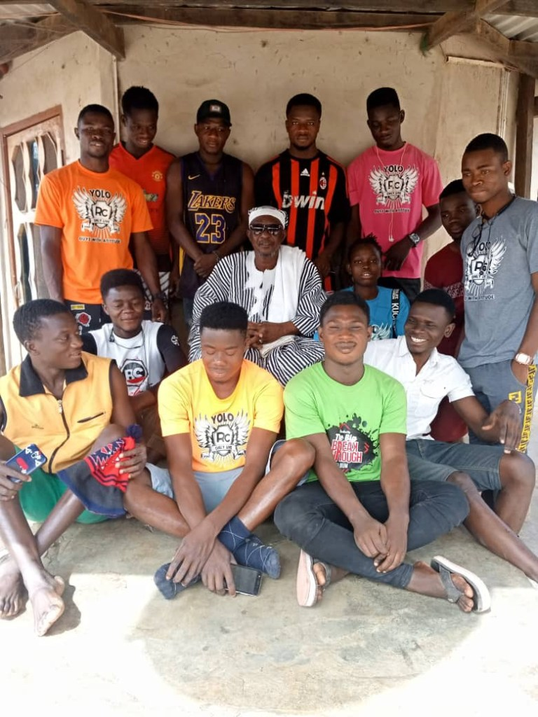 Yolo RC Visits Bongo Paramount Chief Palace after Clean Up Activities