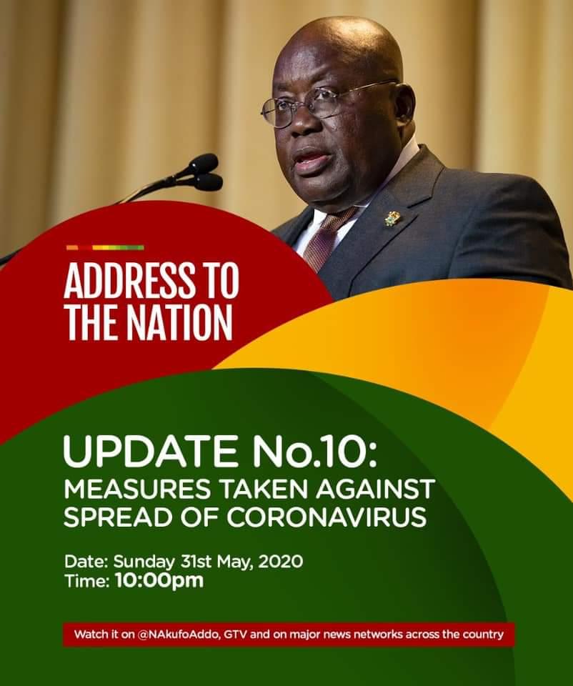 Prez Akuffo-Addo Address The Nation Tonight