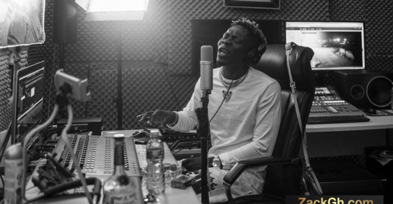 Shatta Wale recording his version of Putuu, set to release it soon
