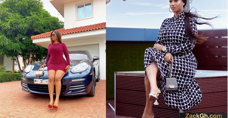 Check Out Hajia4Real 7+ 'Vibes' After Her Birthday Mansion and Car