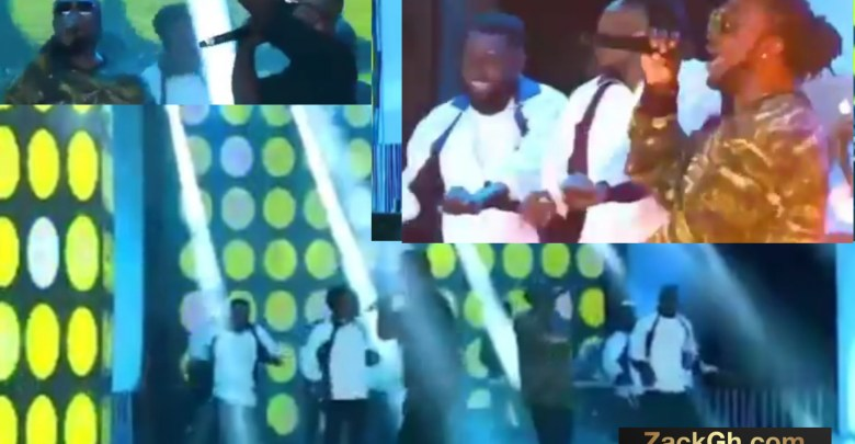 Watch Sarkodie & Bright Performs Ofeetso At Black Love Concert