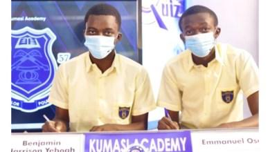 NSMQ 2020: Kumasi Academy dazzle Mfantsipim School who couldn't think ahead
