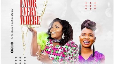 DOWNLOAD MP3: Celestine Donkor – Favor Everywhere Ft. Evelyn Wanjiru