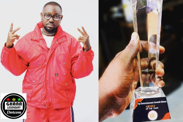 Yaa Pono Thank Fans After Wining Artiste of The Year