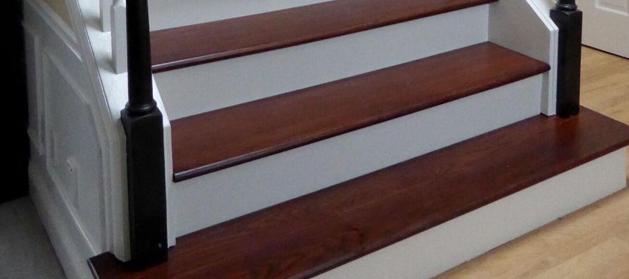 Cost Of Hardwood Stairs Zack Hardwood Flooring | Installing Hardwood On Stairs | Wooden | Painted Wood | Handrail | Nosing | Vinyl