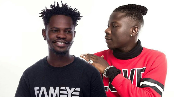 Ashgold C.E.O chooses Stonebwoy and Fameye as his favourite musicians