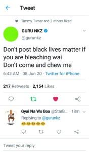 EB17B177 9138 49FF 8160 D7AC3AB8B9E7 Don't Post Black Lives Matter If You Are Bleaching-Guru