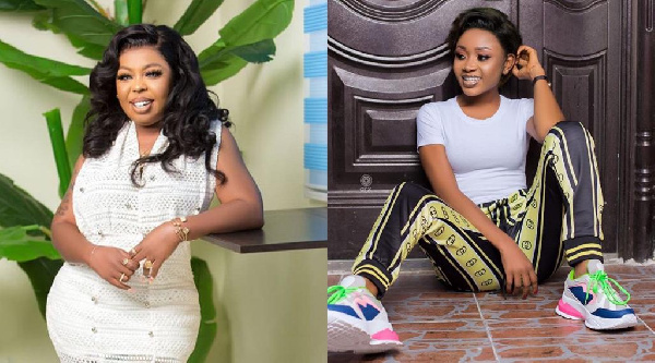 Afia Shwarzenegger claims she advised Akuapem Poloo on what to say after her nude photo saga