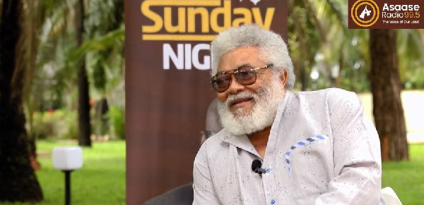 I will use my hair to brush away the coronavirus – Jerry John Rawlings