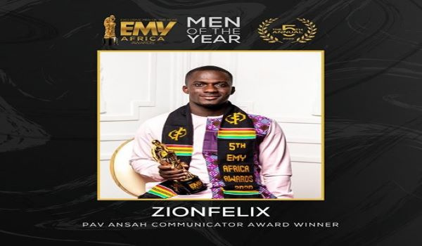 Zionfelix becomes first blogger to win EMY Award