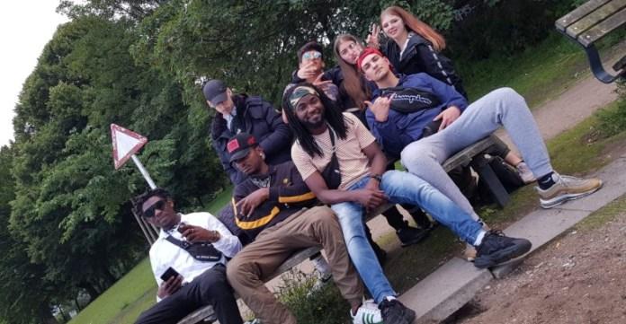 German Based Ghanaian, Chigani, Freetyles With Dope German Rapper
