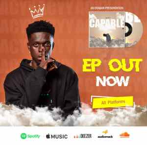 Acyy scales up with release of 5-track Afrobeats EP; Capable