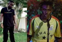 Fans React After Larruso Shared A Memorable Childhood & Current Photo With Sarkodie