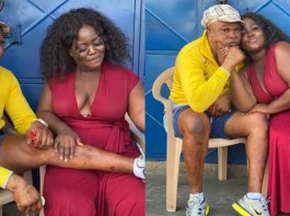 Ex-girlfriend Of Patapaa, Queen Peezy And Bukom Banko Spotted Kissing - Photo And Video Of Them Kissing Surfaces Online