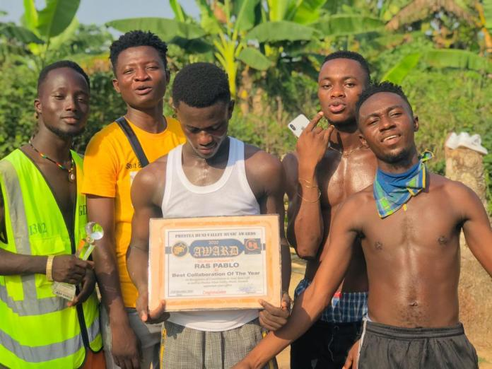 Ghanaian Musician, Ras Pablo Recognized & Honoured With Award
