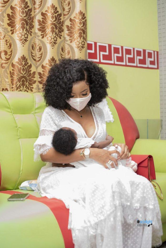 Tv Star Serwaa Amihere Flaunts Adorable Baby In New Photo