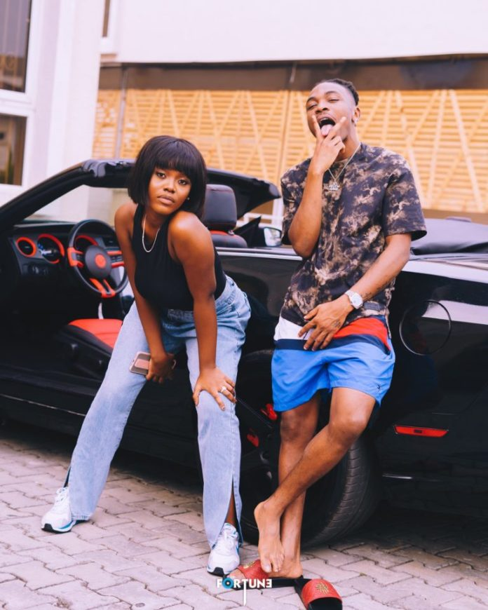 Female Singer Gyakie Working On A Project With Mayorkun? – See Photos