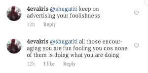 Screenshot 20210329 105716 Shugatiti's Instagram Post Makes Fans Talking.