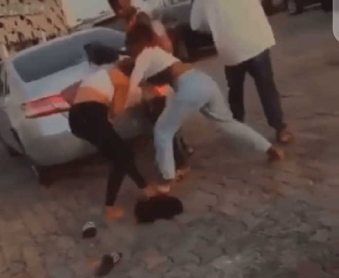 WATCH: Two Ladies Sighted Fighting At Mall
