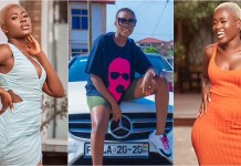 Fella Makafui 'Gingers' The Internet Once Again With Her Tundra Bortoz While Dancing