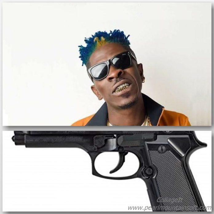 Shatta Wale – Mi Have A Gun (Prod by Da Maker)