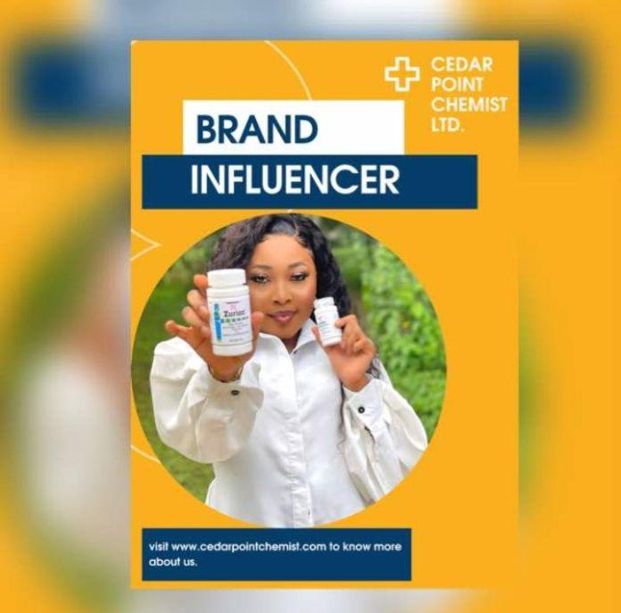 Meet Adwoa Freshy, The Brand Influencer For Cedar Point Chemist Ltd