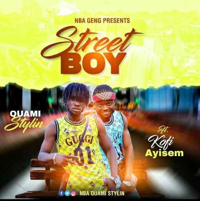 Quami Stylin - Street Boy Ft Kofi Ayisem (Mixed By Otiti)