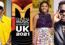 Full List Of Winners At The Ghana Music Awards UK 2021