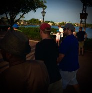Met up with John and strolled the World Showcase pavilion a bit