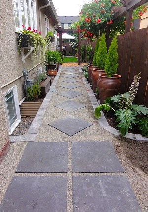 23 Landscaping Ideas for Side of House - Zacs Garden on Side Yard Walkway Ideas  id=38393