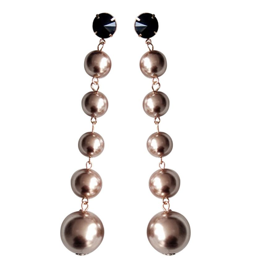 crystal earrings candy long products drop faux lined pearl jewel