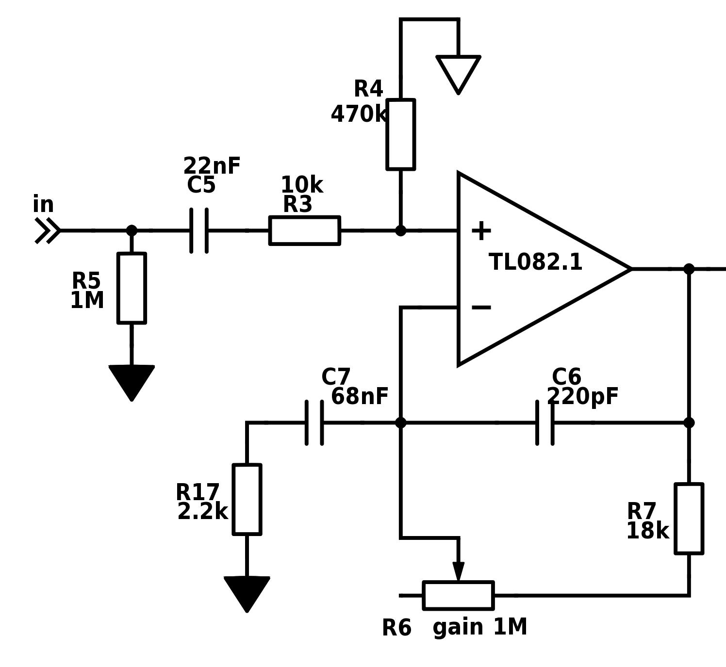 Simple Tube Amp Schematic