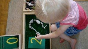 cyfry Montessori