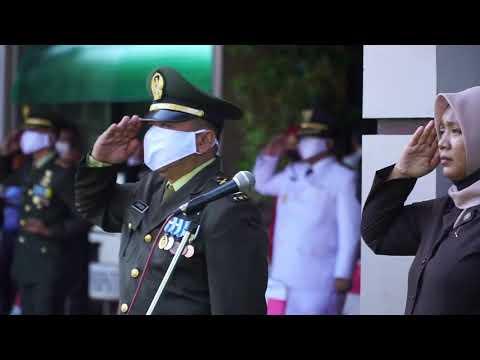 Upacara Bendera Pendopo 2 Bangkalan