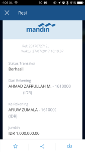 Mandiri Online Pengganti Mandiri Internet Banking Dan Mandiri Mobile Ahmad Zafrullah