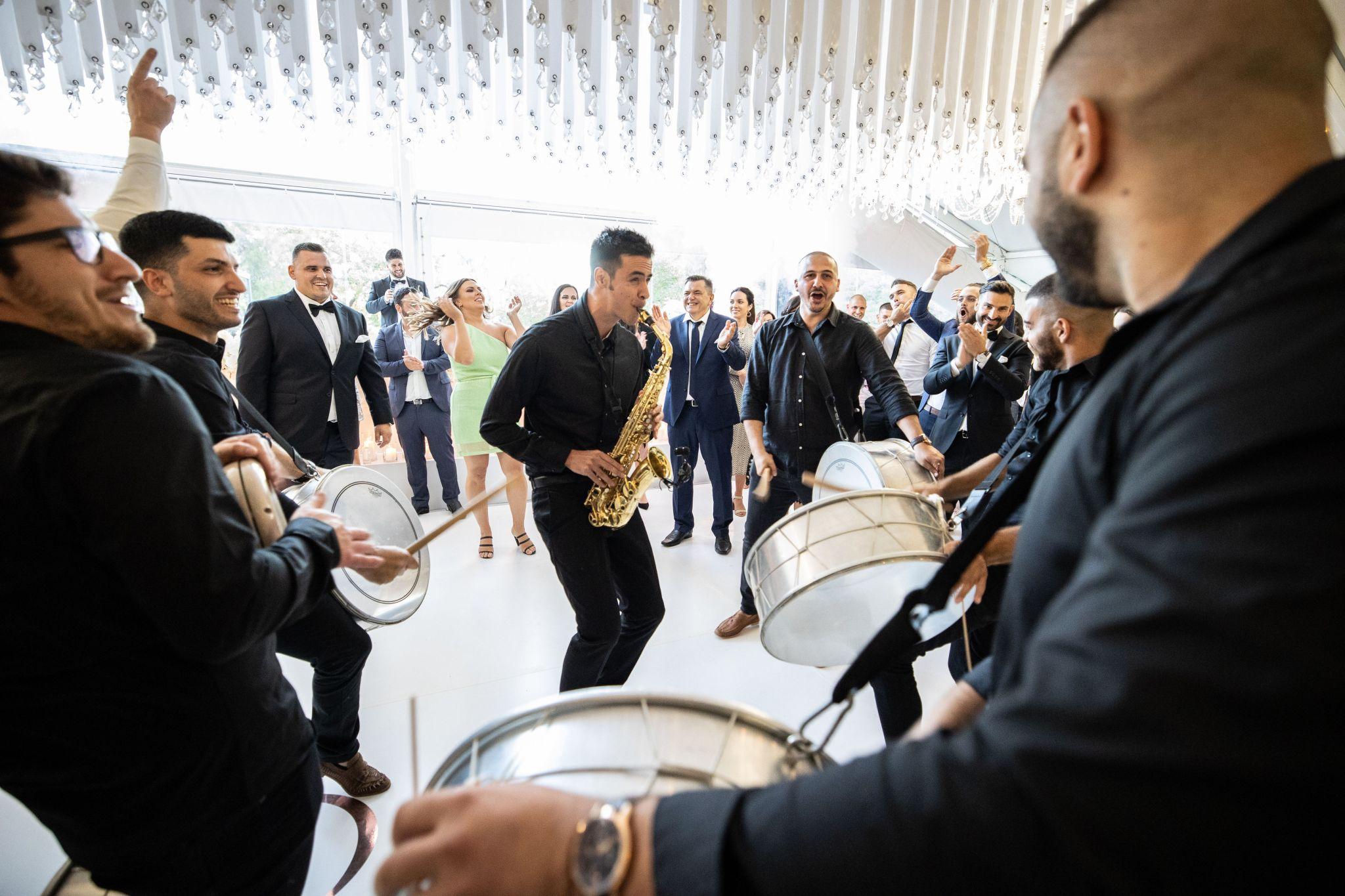 Adelaide Wedding Saxophone Lebanese Drummers