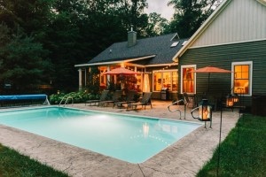 Inground pool created for a cozy Michigan cottage - Zagers Pool Grand Rapids