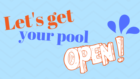 Above Ground Pool Opening