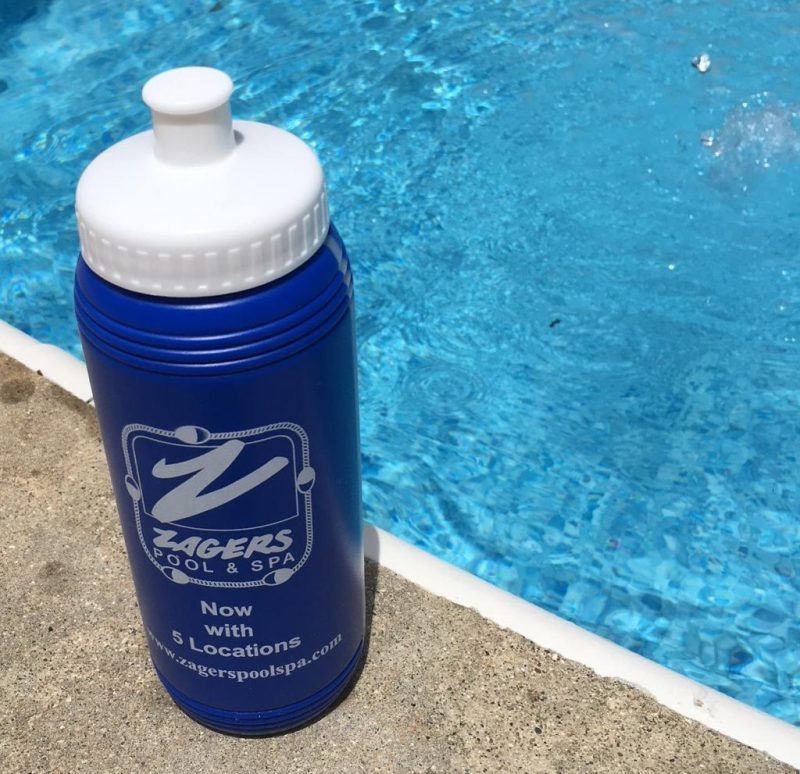 Free Zagers Water Bottle for Collecting Water for Testing