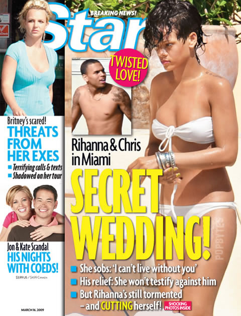 Star magazine cover