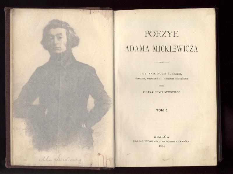 """Nowe lektury - """"Poezye"""" A. Mickiewicza"""