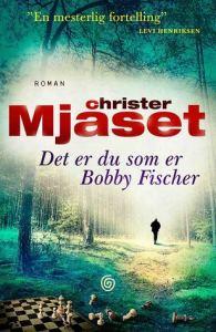 """okładka książki - oryginalna, norweska - """"to ty jesteś Bobbym Fischerem"""""""