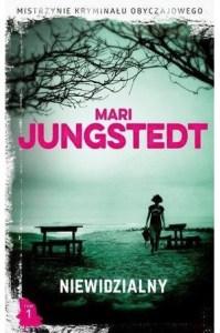 """Okładka książki Mari Jungstedt """"Niewidzialny"""""""