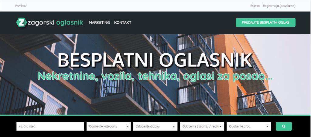 Zagorski oglasnik - izrada web stranica | Zagorski oglasnik