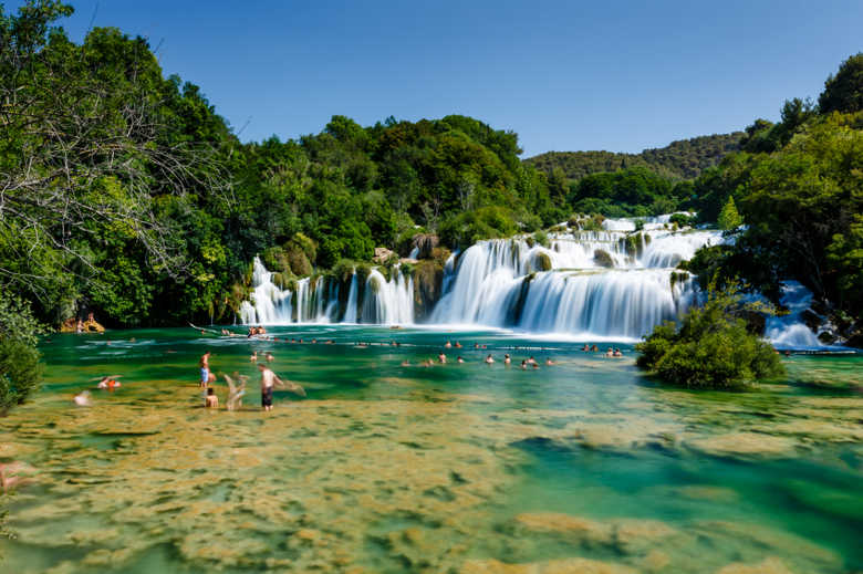 Tour Zagreb to Dubrovnik with optional stop at Krka river waterfalls