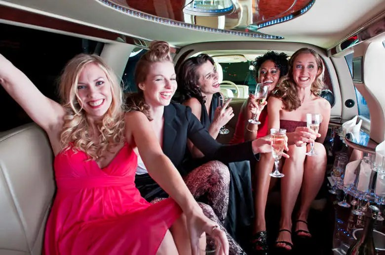 Hen Limo party