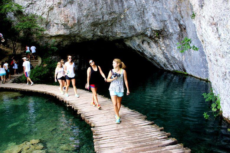 Plitvice lakes Board walk