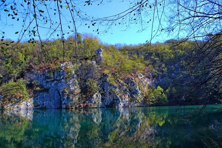 Plitvice Lakes canyon